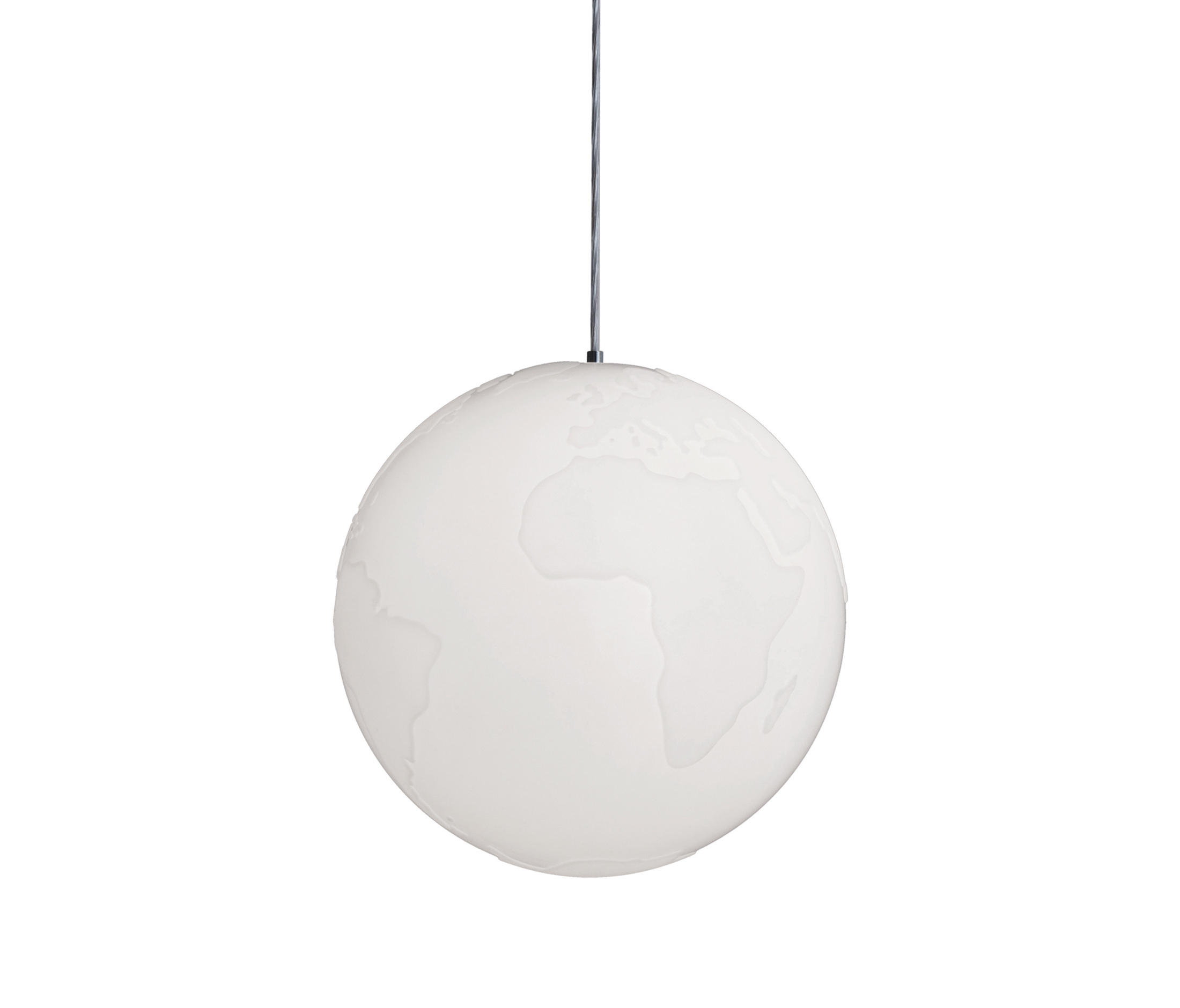 Planet Earth Suspension Lamp General Lighting From Formagenda
