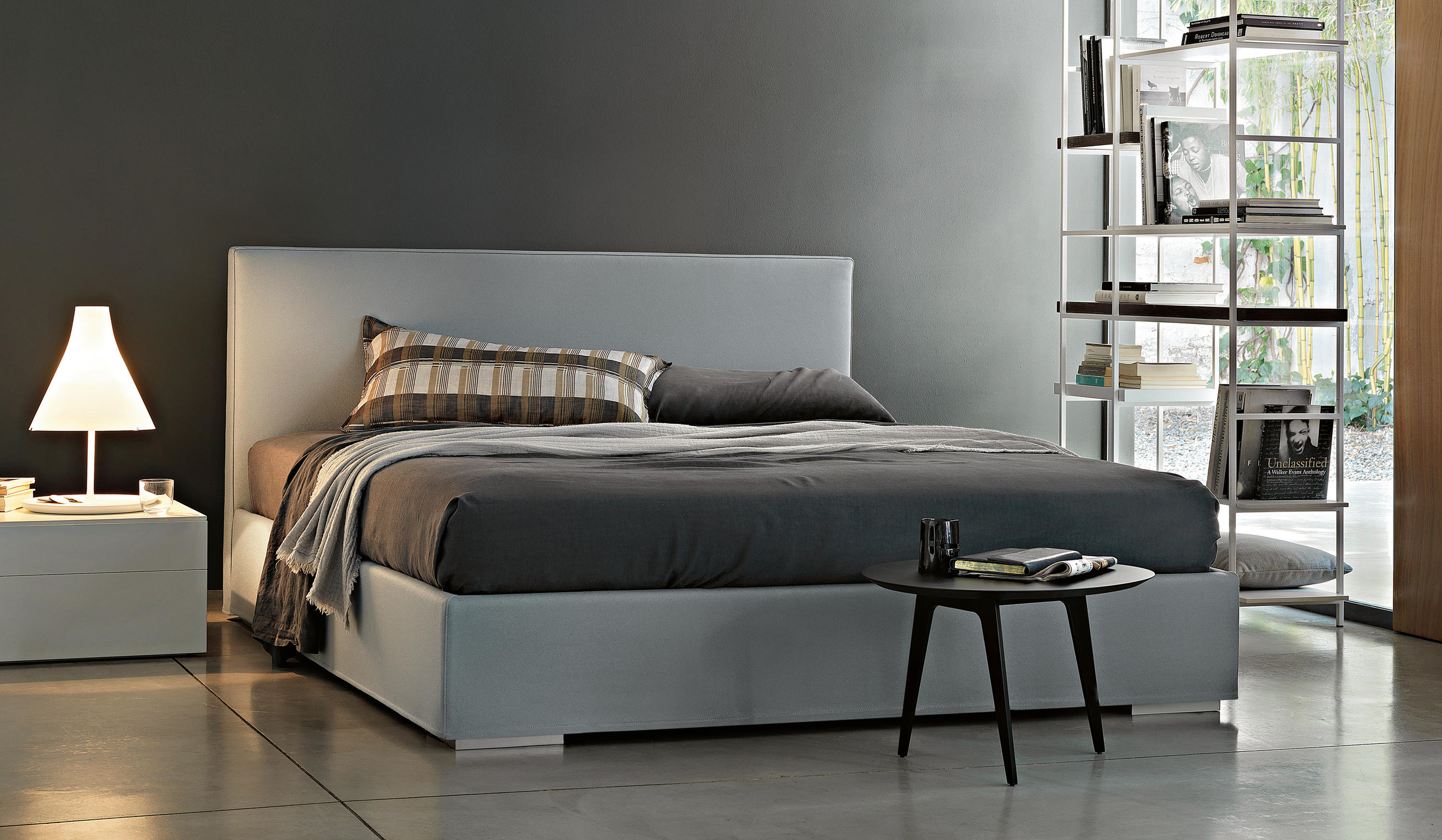 Double bed furniture design - Camille Double Beds Lema