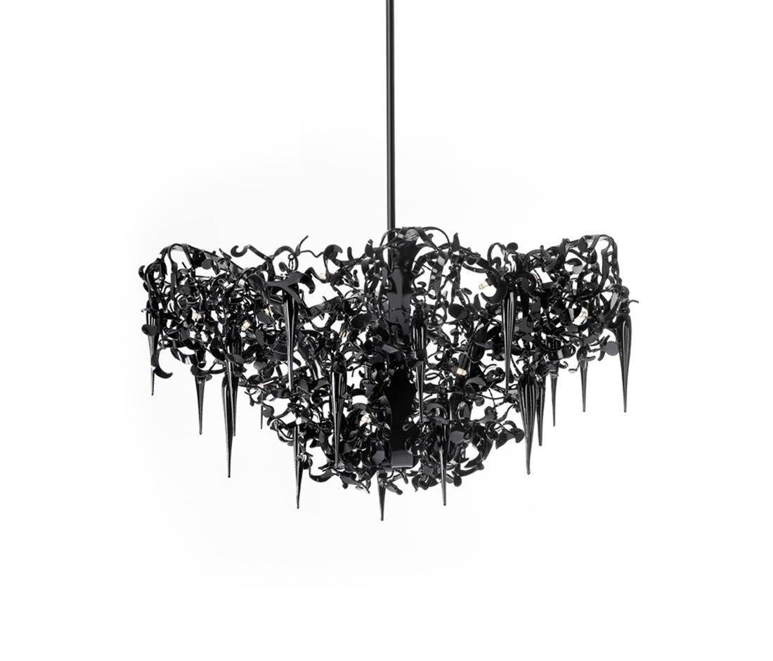 flower power chandelier ceiling suspended chandeliers. Black Bedroom Furniture Sets. Home Design Ideas
