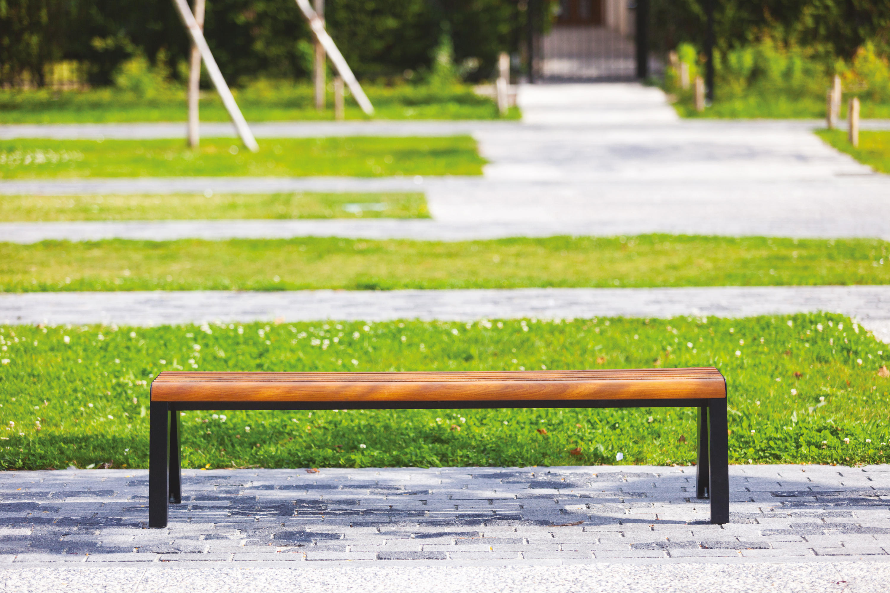 Brunea Park Bench Exterior Benches From Mmcit Architonic