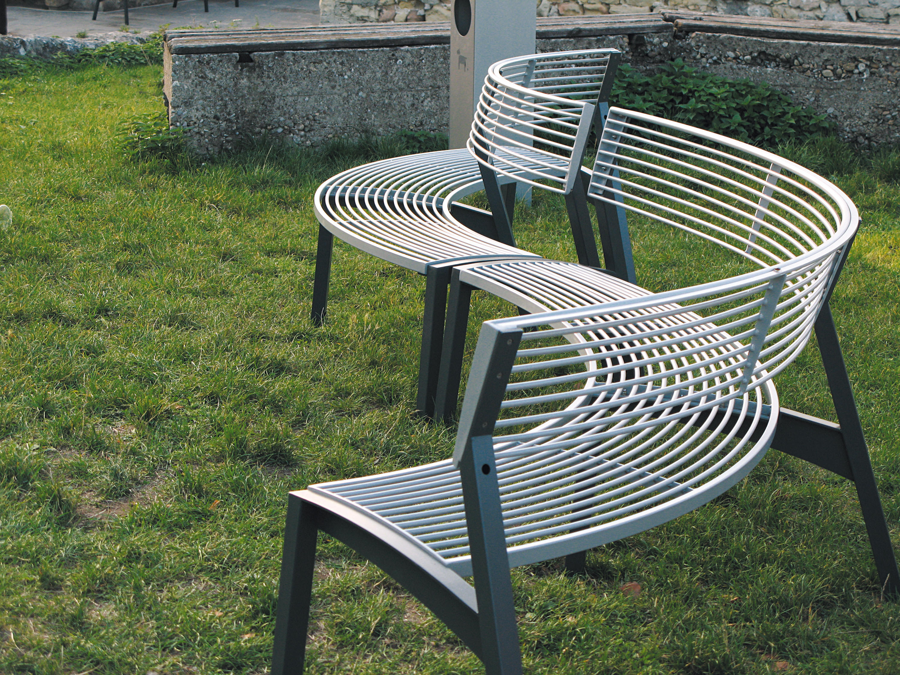 Vera Park Bench Exterior Benches From Mmcit Architonic