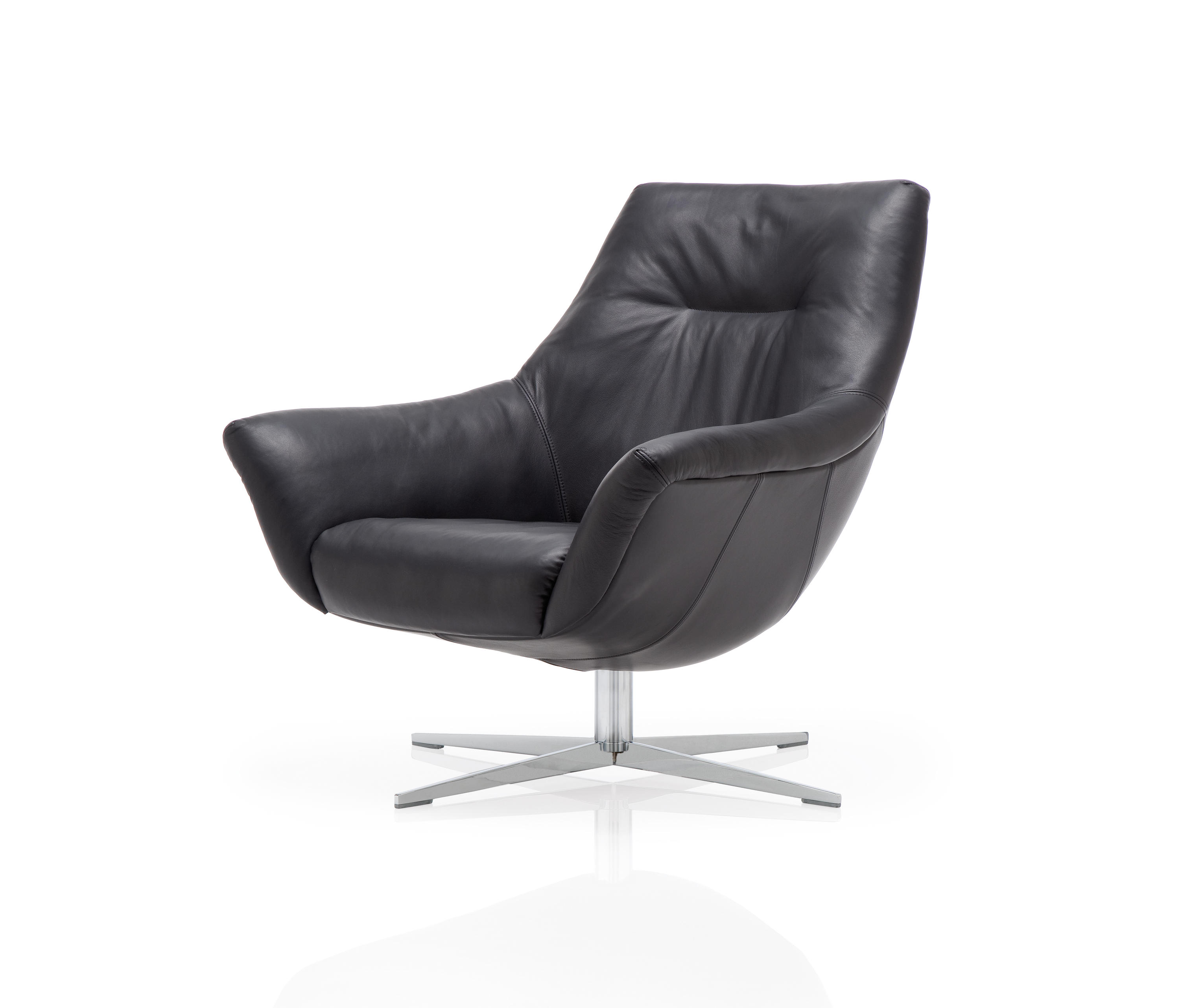 rolf benz 566 lounge chairs from rolf benz architonic