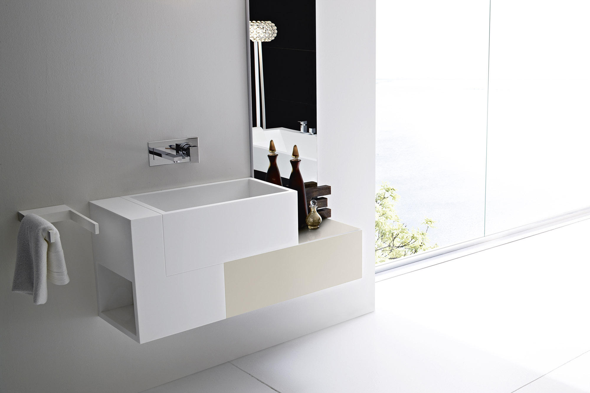 Argo vasque meubles sous lavabo de rexa design architonic - Meuble sous vasque design ...