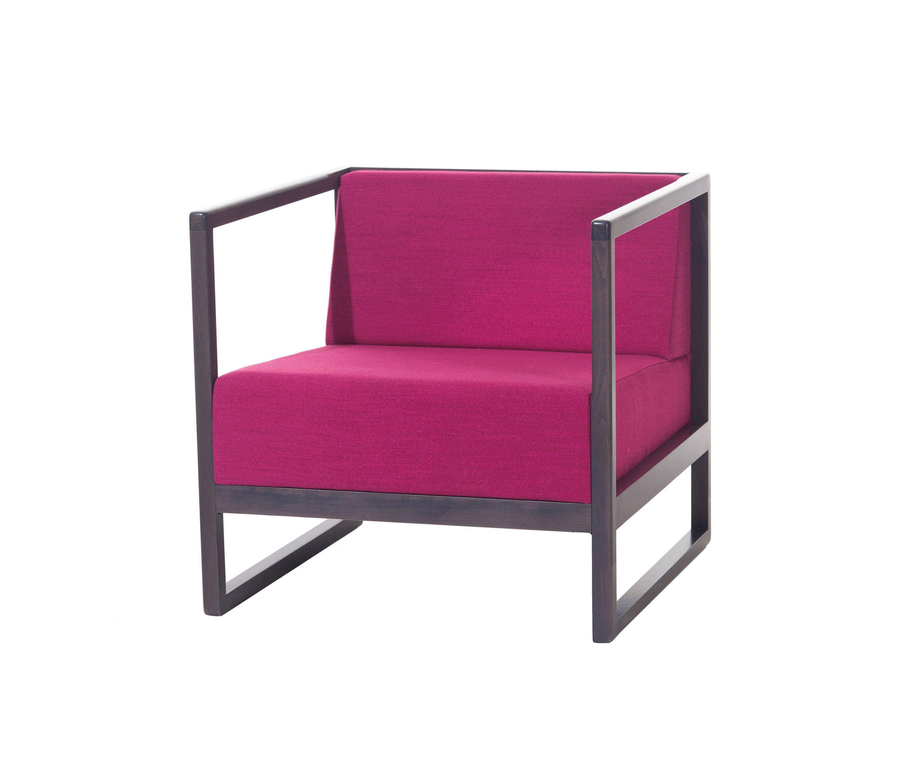 Narrow Armchair Casablanca Lounge Armchair Lounge Chairs From Ton Architonic