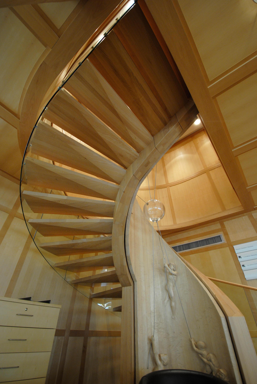 europa objekt holztreppen von siller treppen architonic. Black Bedroom Furniture Sets. Home Design Ideas