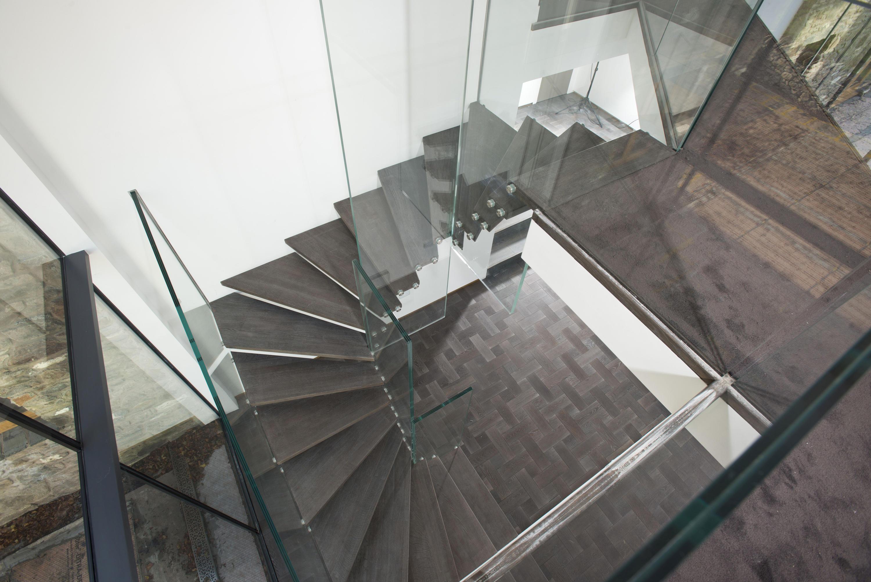 Treppen Modern mistral glass stairs from siller treppen architonic