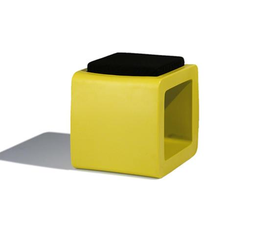 Cube Tabourets De Jardin De Sywawa Architonic