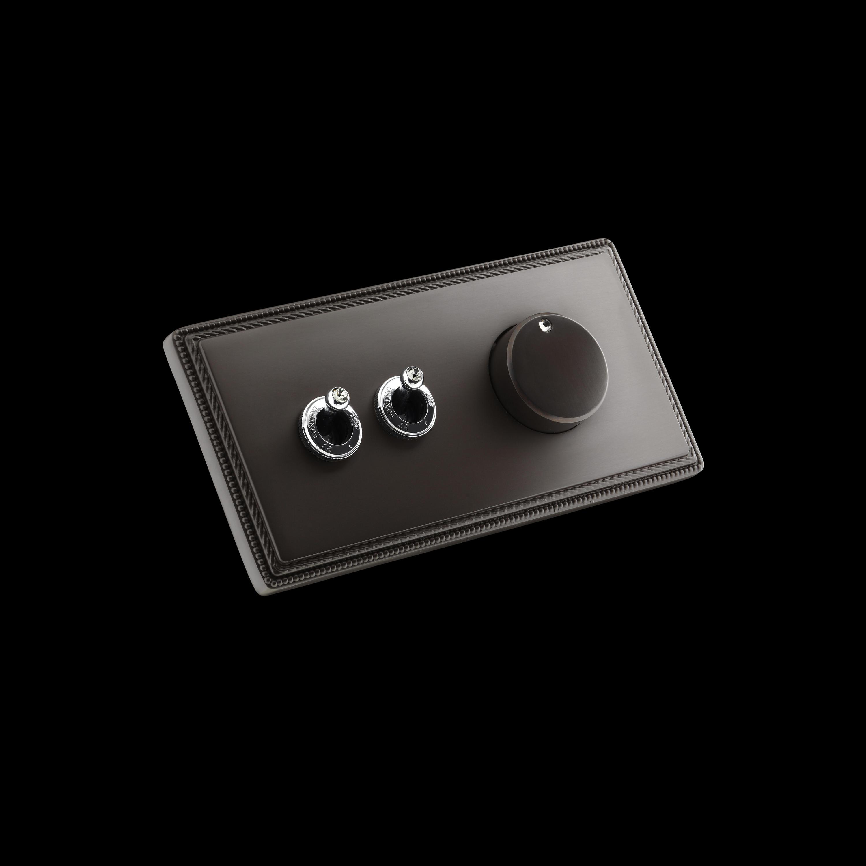 1950 Double Switch Dimmer Interrupteurs 224 Levier De