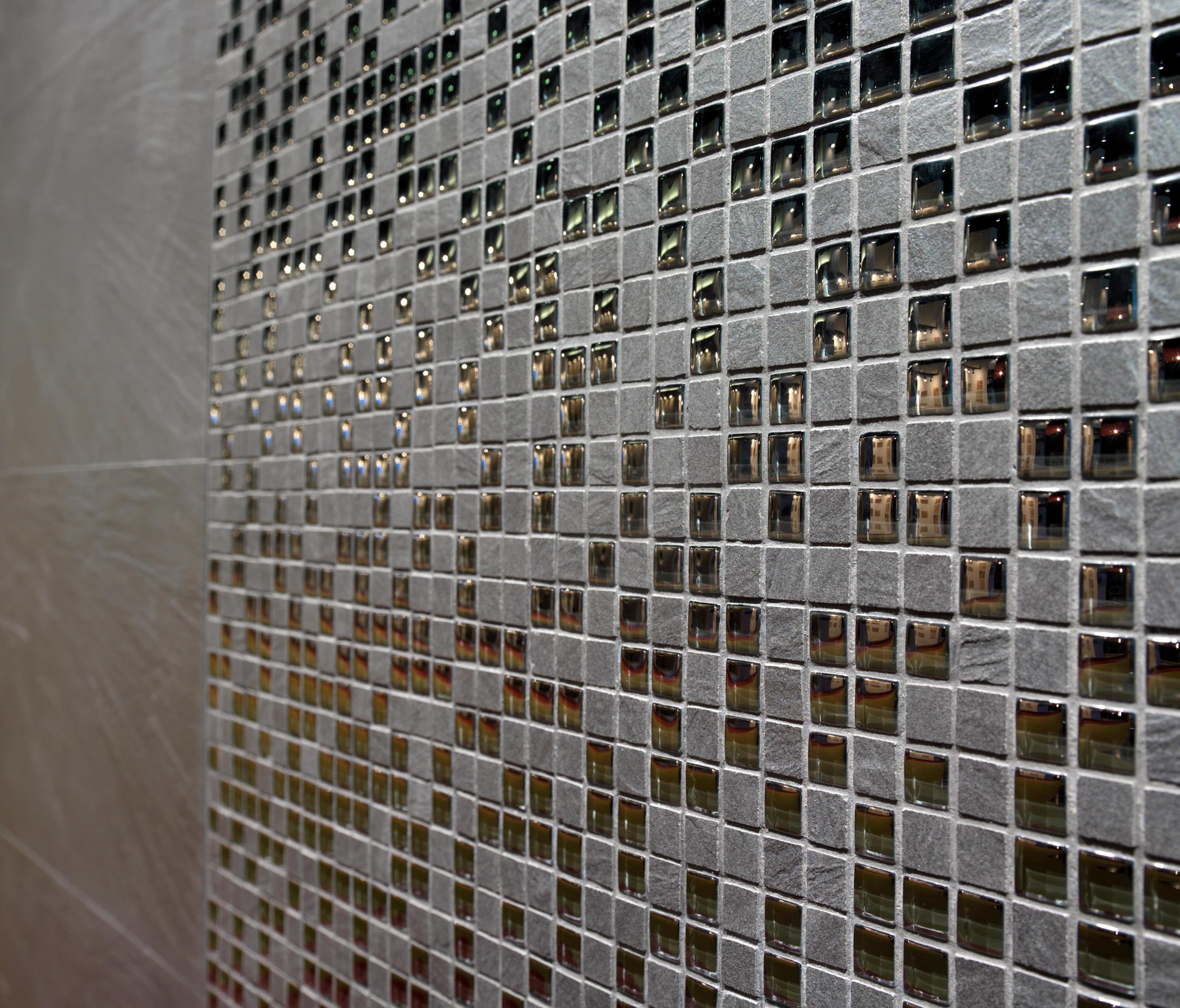 Mosaico anciles cr basalto ceramic mosaics from vives for Mosaico ceramica
