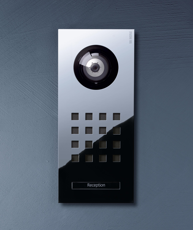 siedle steel video-tÜrstation - klingeln / klingelplatten von siedle