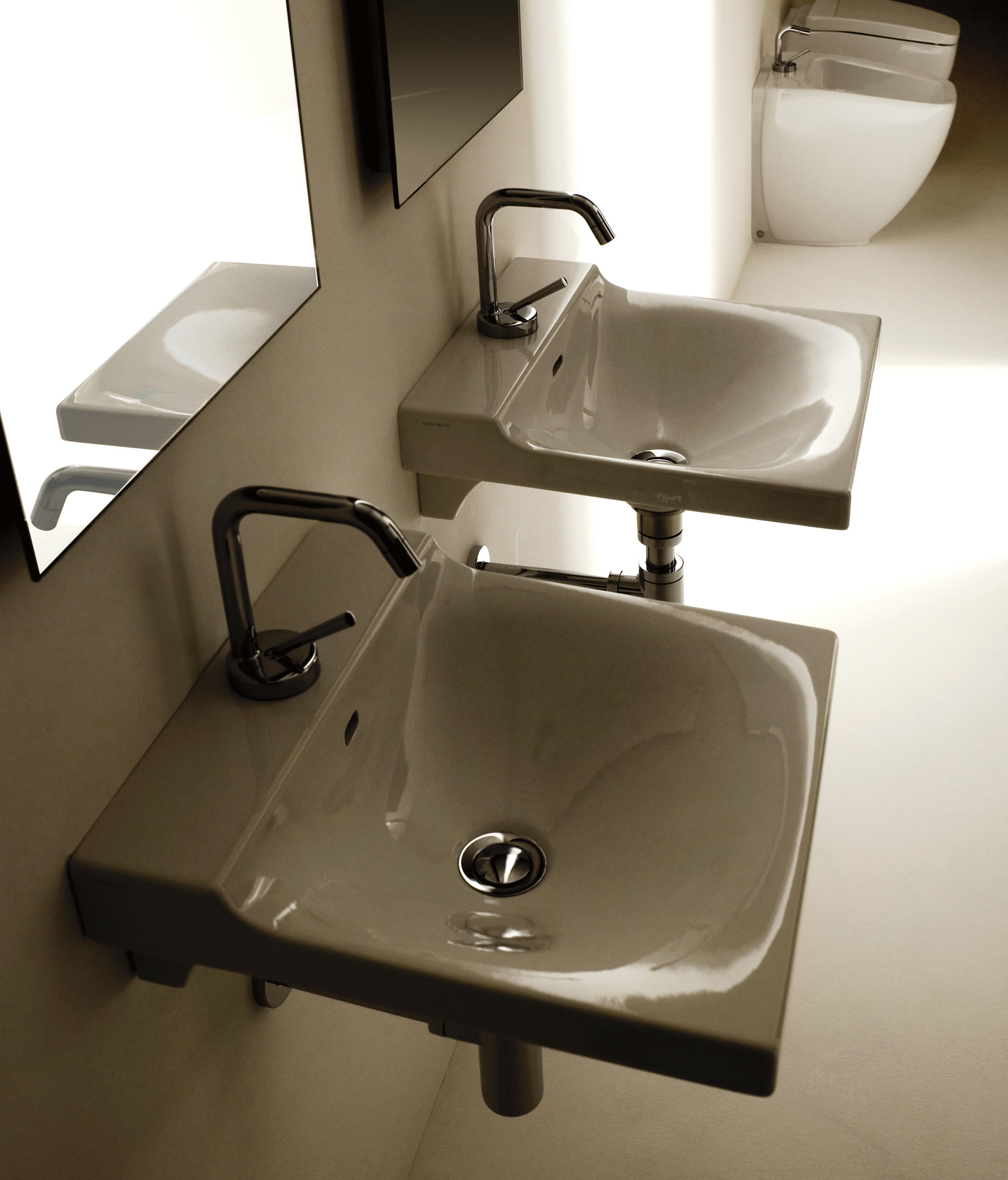 Buddy Washbasin 40 By Kerasan | Wash Basins