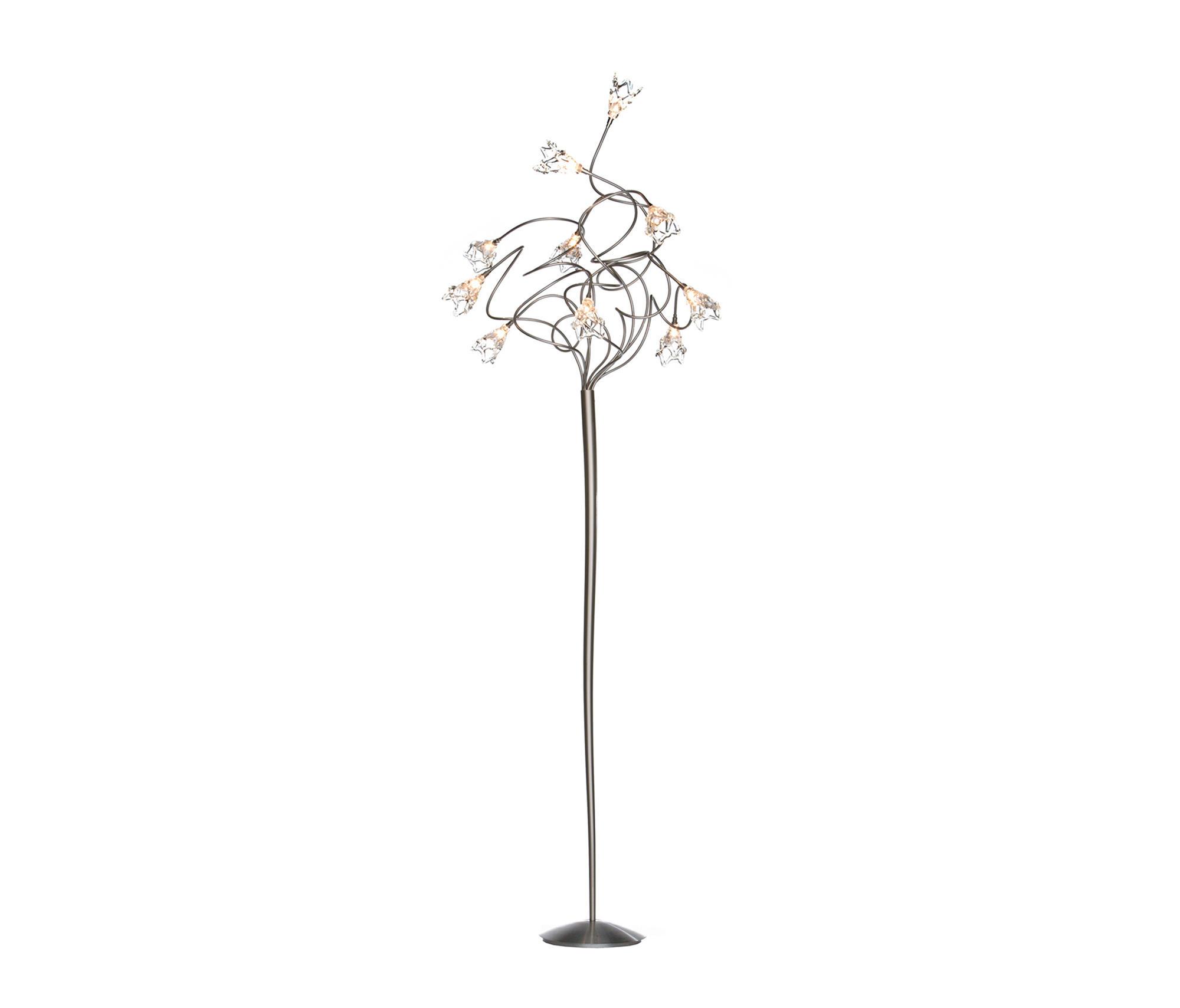 FLOOR LAMPS IN STAINLESS STEEL High quality designer FLOOR LAMPS