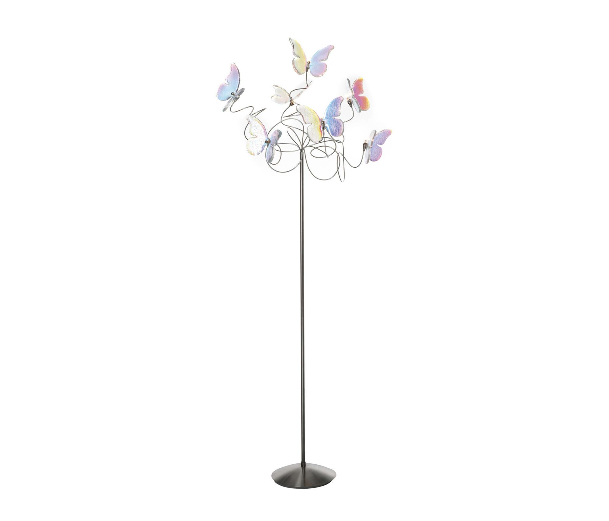 PAPILLON FLOOR LAMP 7-IRIDESCENT - Free-standing lights ...