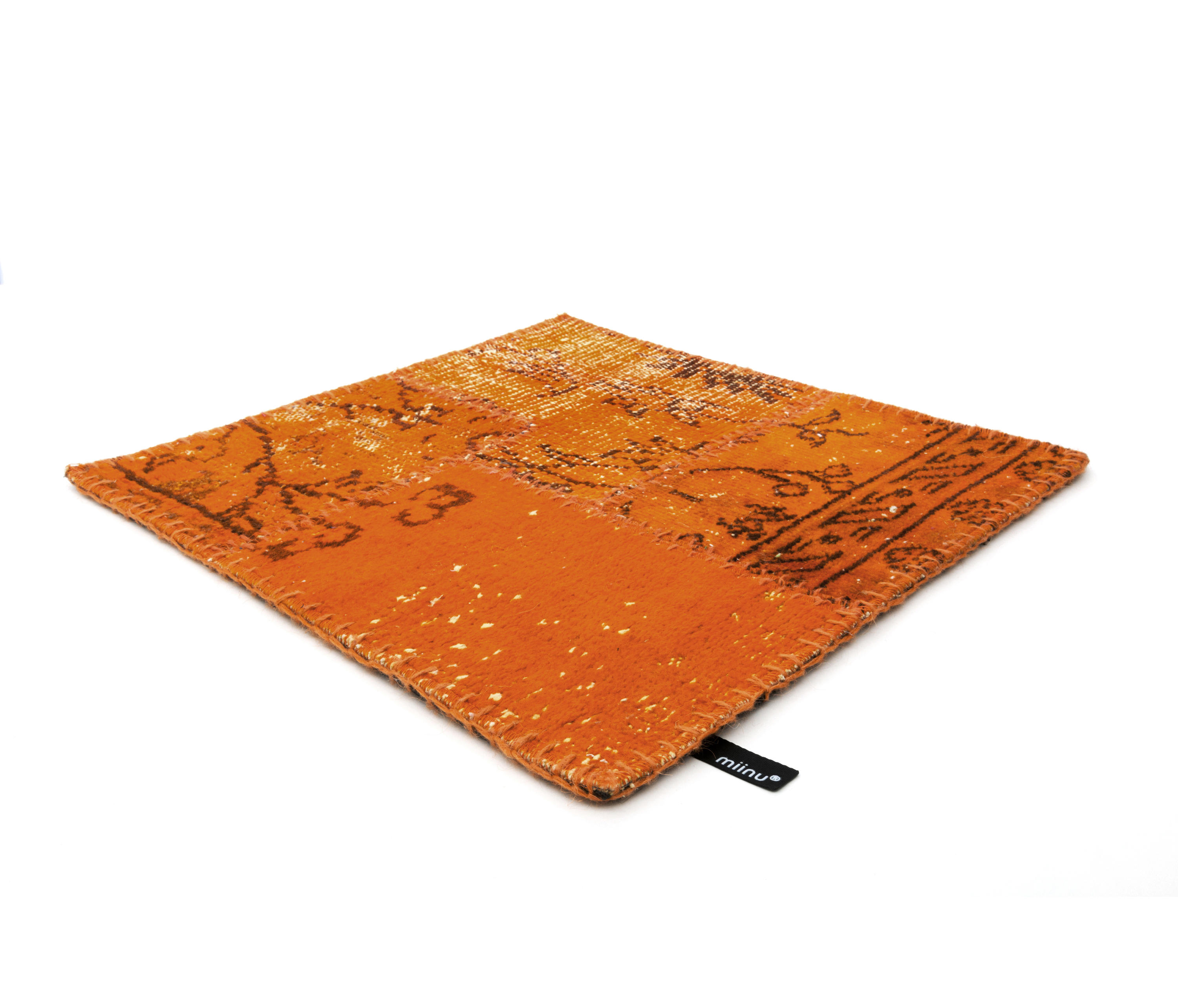 industrial blazing orange rugs designer rugs from. Black Bedroom Furniture Sets. Home Design Ideas
