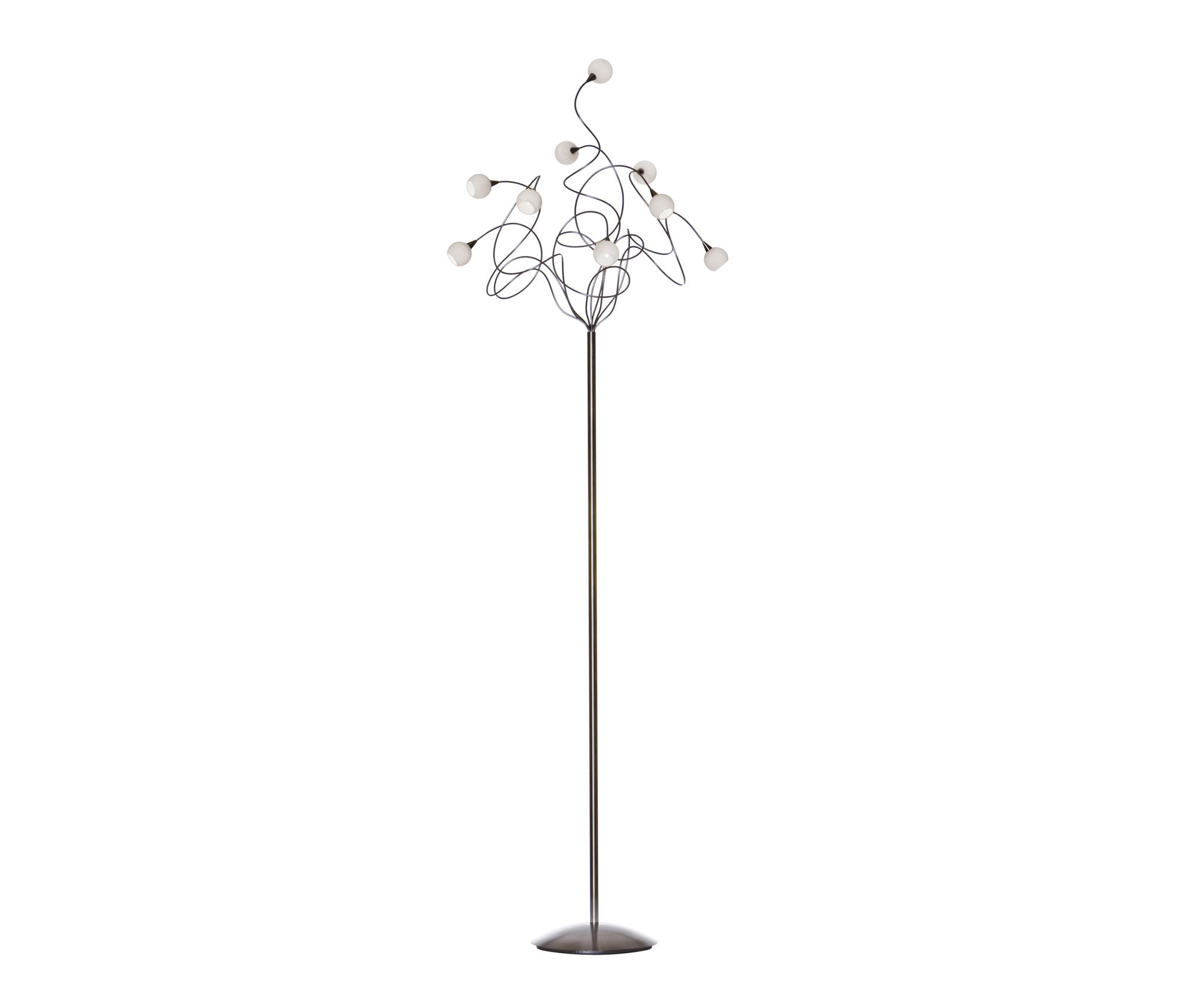 FLOOR LAMPS IN STAINLESS STEEL High quality designer FLOOR LAMPS
