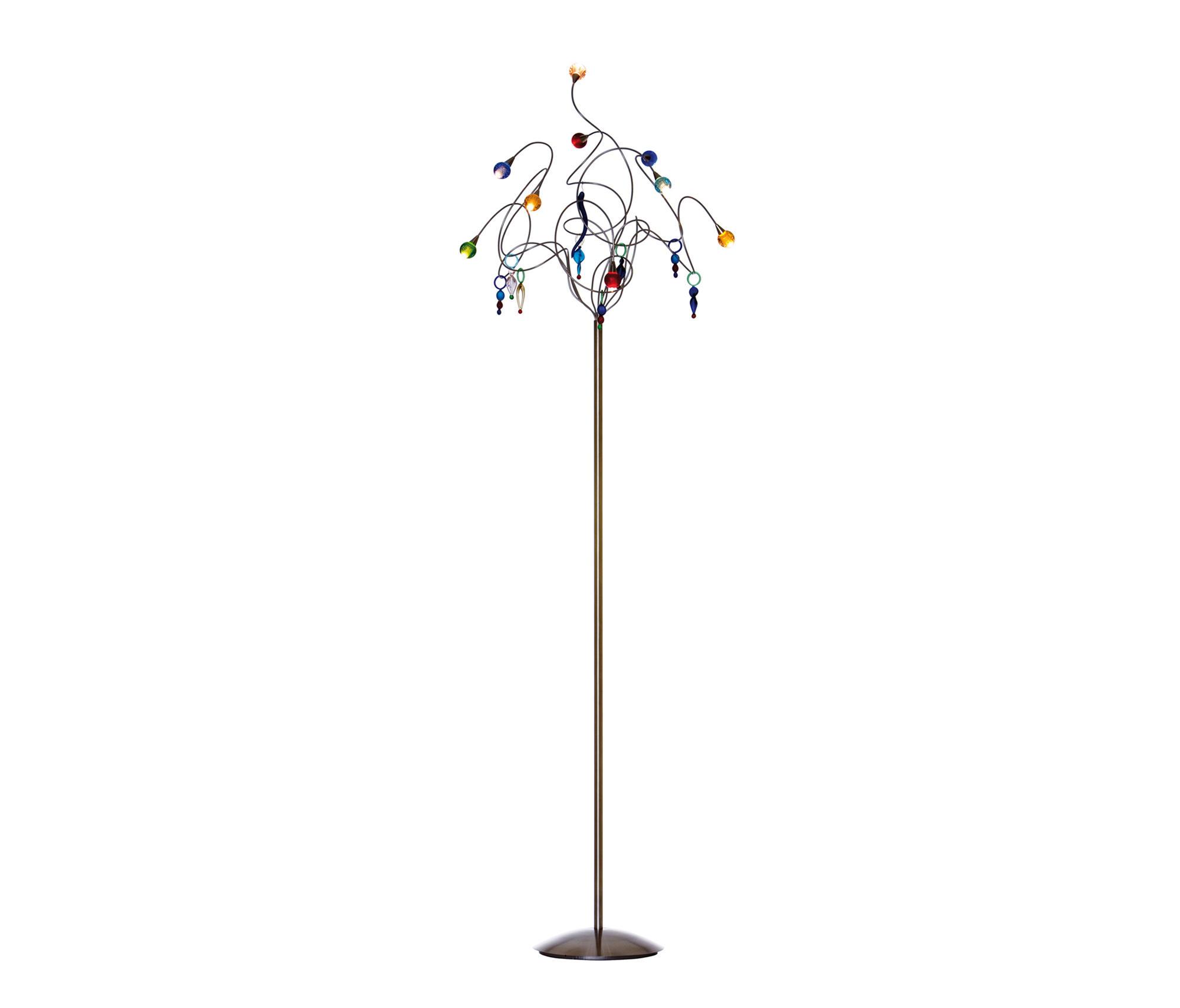 Strawberry Floor Lamp 9 Multicolor By HARCO LOOR | General Lighting