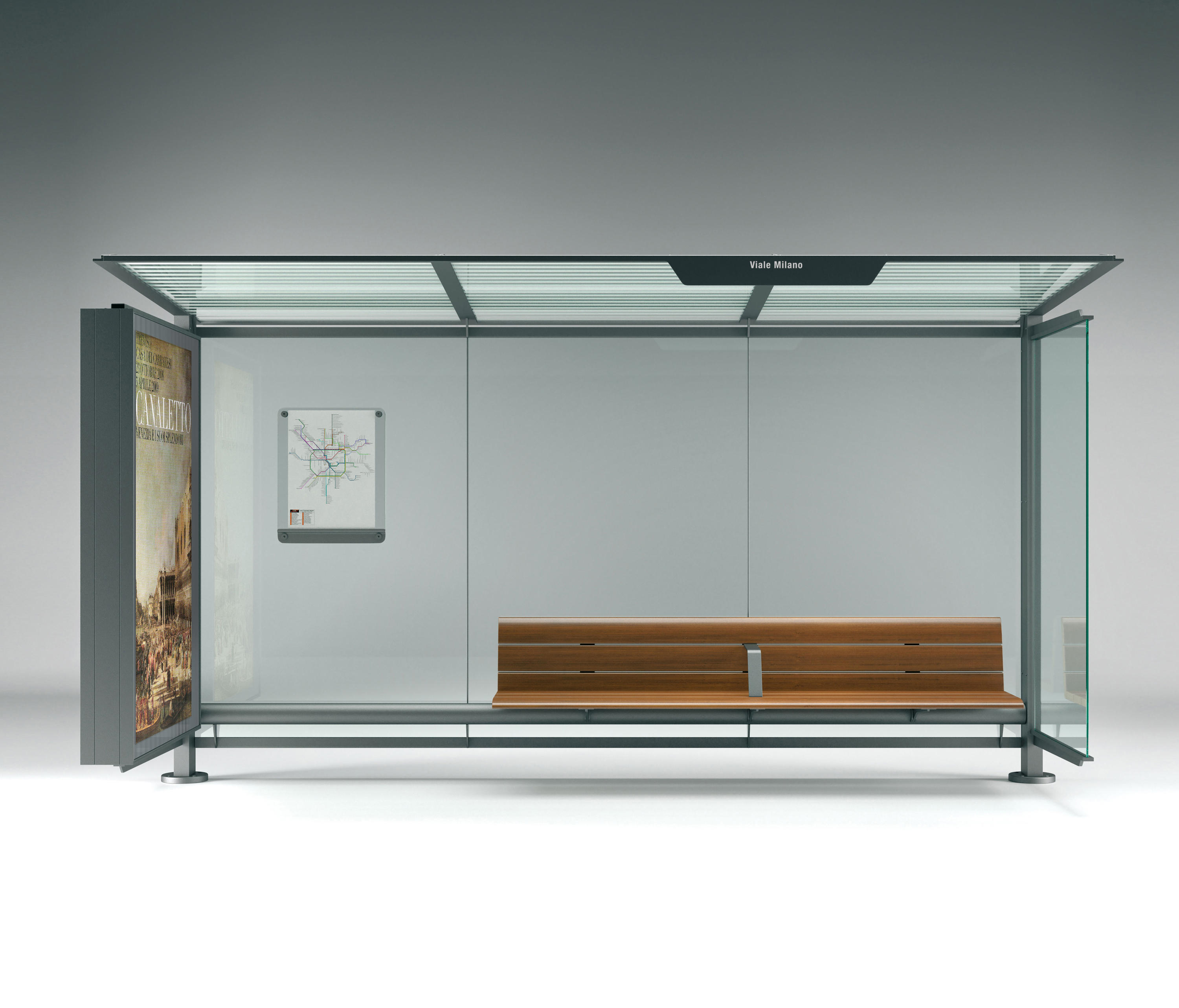 Pensilis Bus Stop Shelters From Metalco Architonic