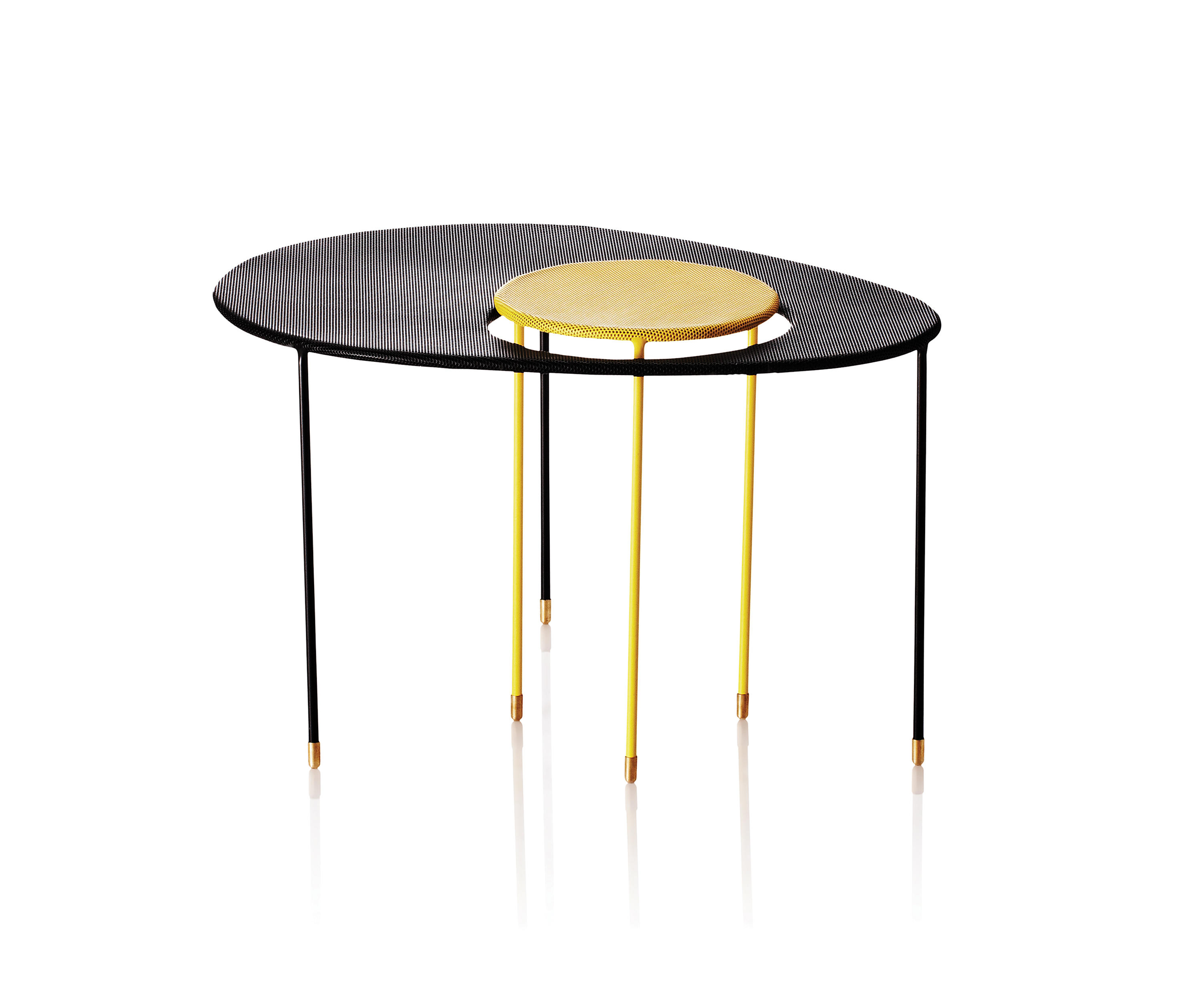 Kangourou Side Table Side Tables From Gubi Architonic