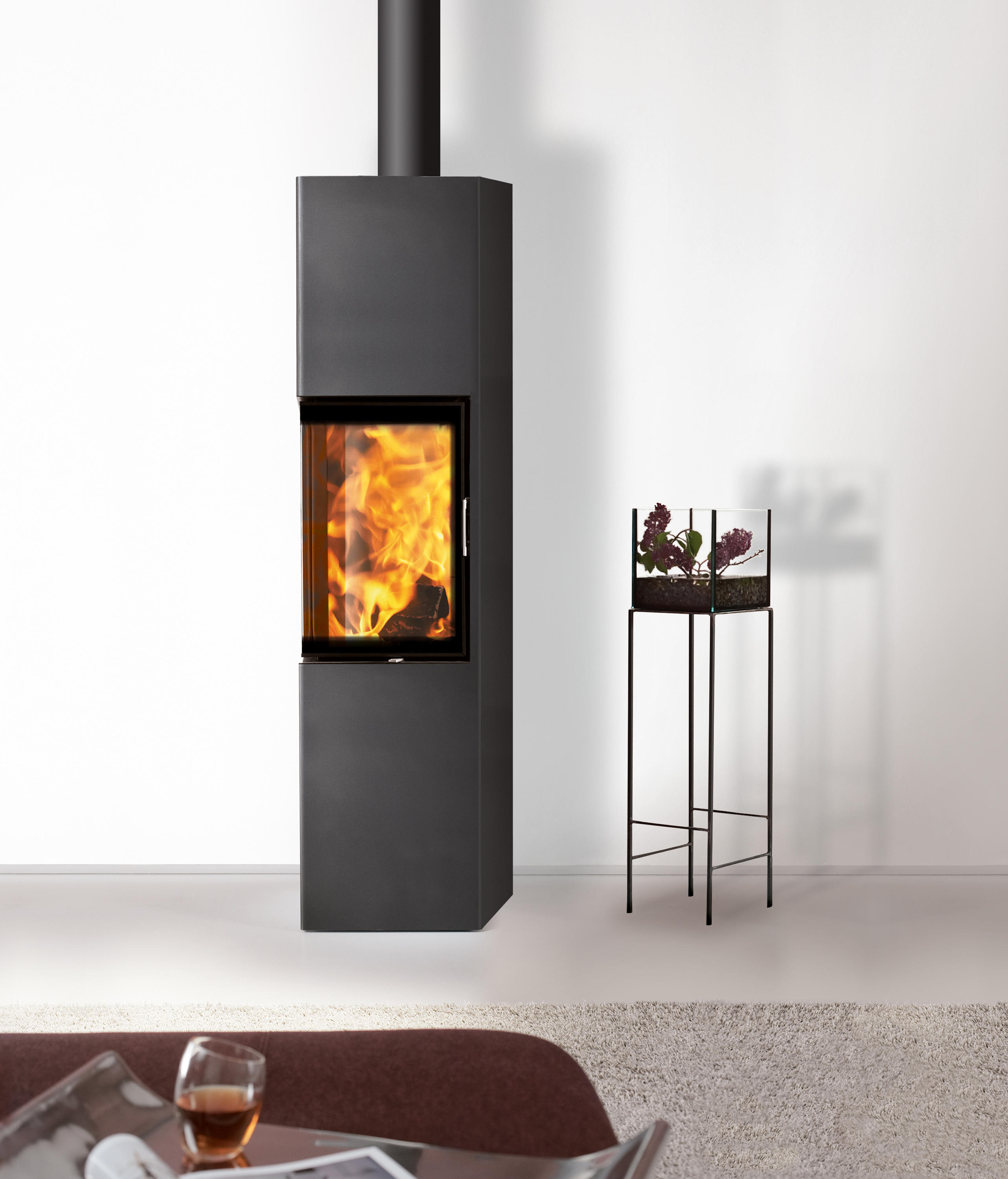 slim 2 0 wood burning stoves from austroflamm architonic. Black Bedroom Furniture Sets. Home Design Ideas