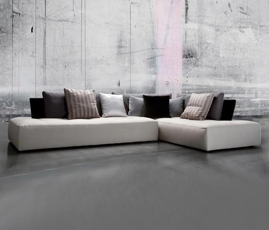 Giorgio Leather Reclining Sofa: Conversation - Lounge Sofas By Erba Italia