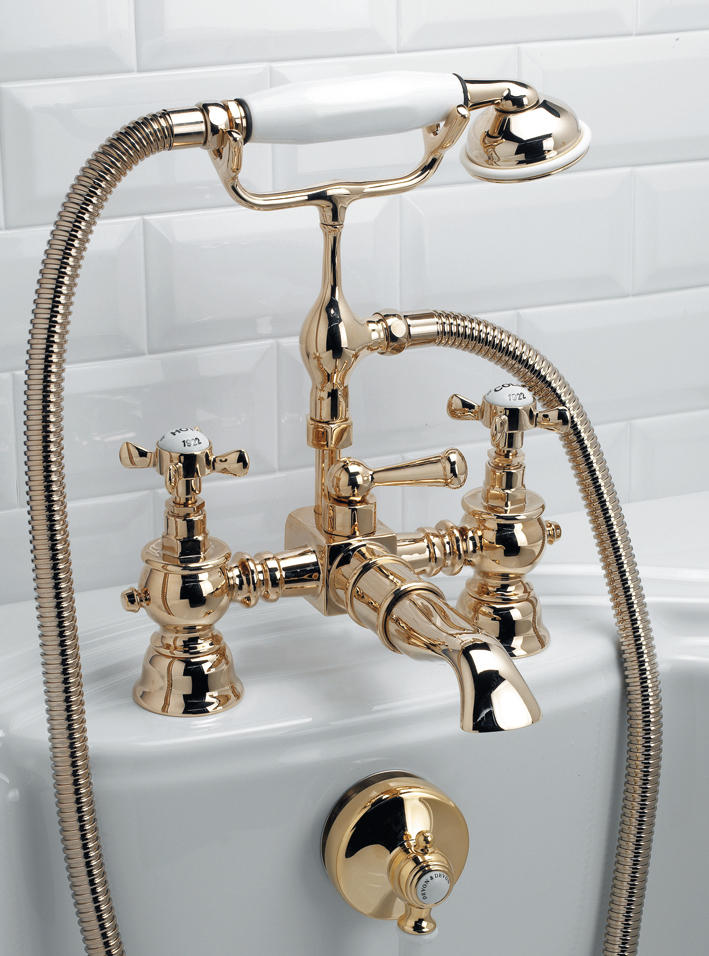 ANTIQUE BATH SHOWER MIXER - Shower taps / mixers from Devon&Devon ...