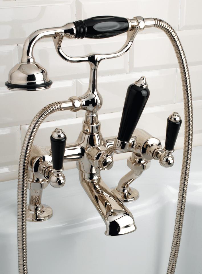 BLACK DANDY BATH AND SHOWER MIXER - Bath taps from Devon&Devon ...