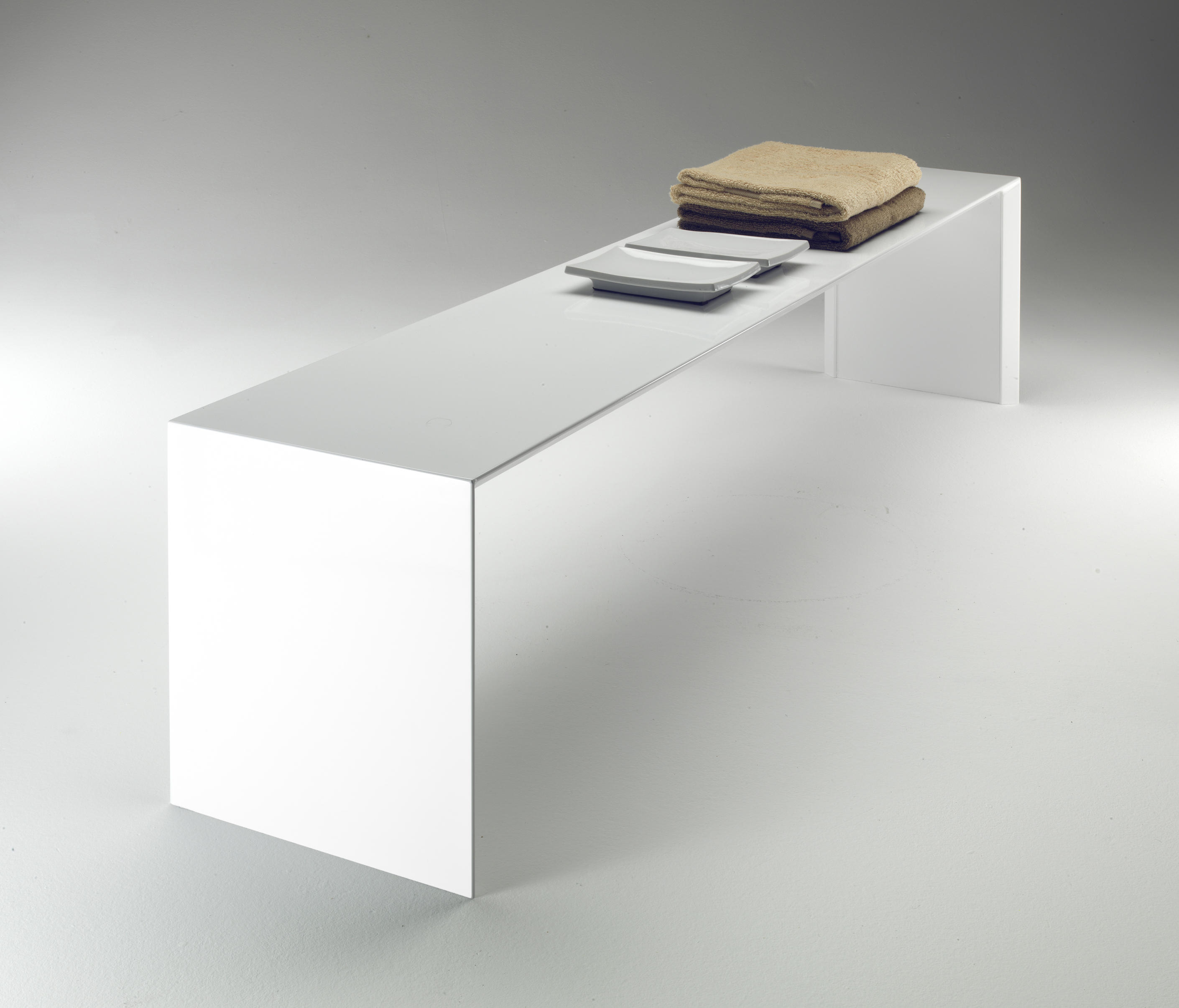 SQUARE BENCH - Bath stools / benches from TUBES | Architonic