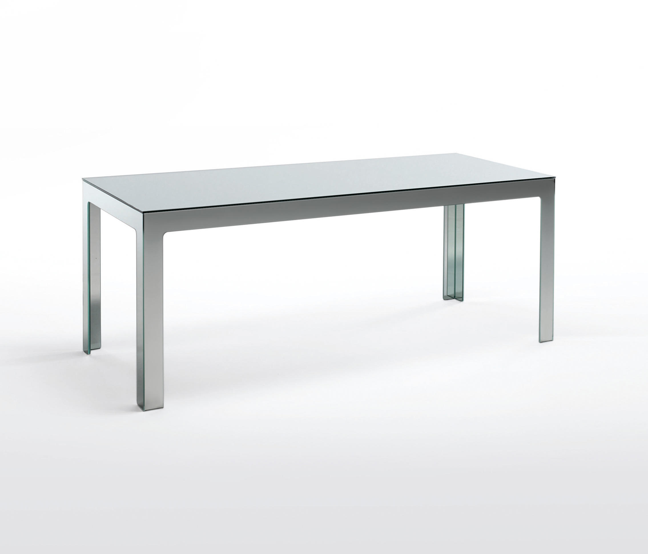 Mirror Mirror Tavolo Alto Dining Tables From Glas Italia
