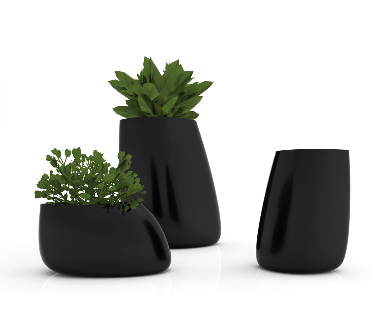 stone pot flowerpots planters from vondom architonic. Black Bedroom Furniture Sets. Home Design Ideas