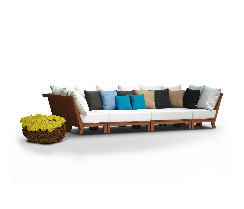 Frankfurt modular sofas de jardin de deesawat architonic for Sofa modular jardin