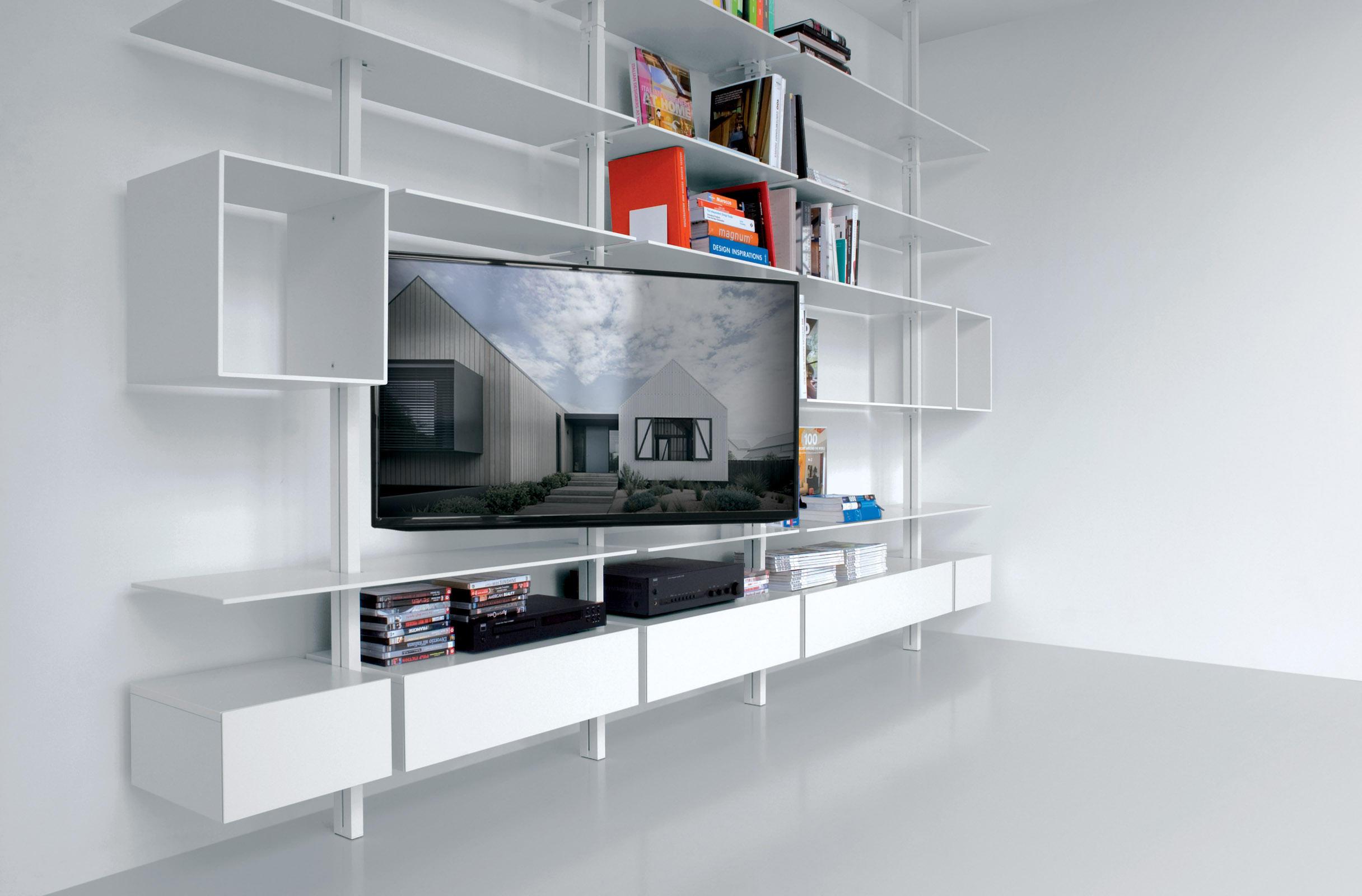 Scaffali Ufficio Design : System sy01 sistemi scaffale ufficio extendo architonic