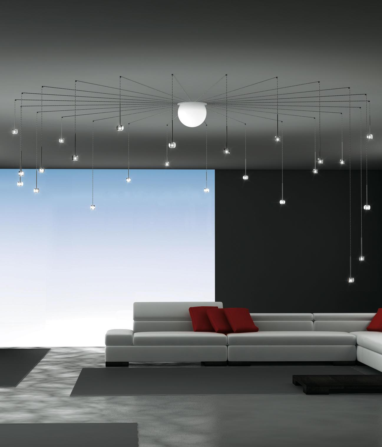 Sciame led stellina lampade sospensione album architonic for Led lampade