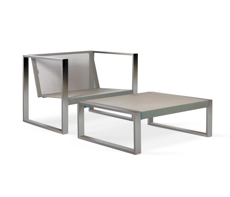 Cima lounge piecera 78 sillones de jard n de fueradentro for Jardin 78