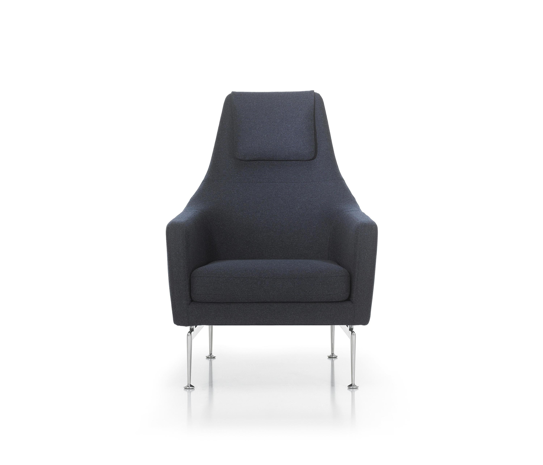 Suita fauteuil fauteuils d 39 attente de vitra architonic for Fauteuil vitra prix