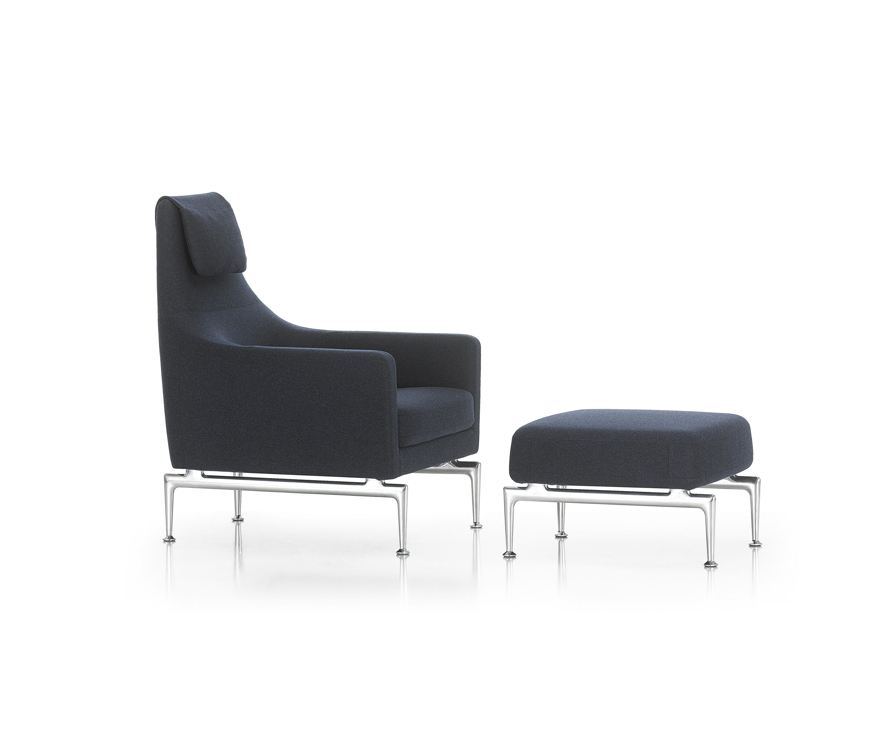 suita fauteuil ottoman lounge chairs from vitra. Black Bedroom Furniture Sets. Home Design Ideas
