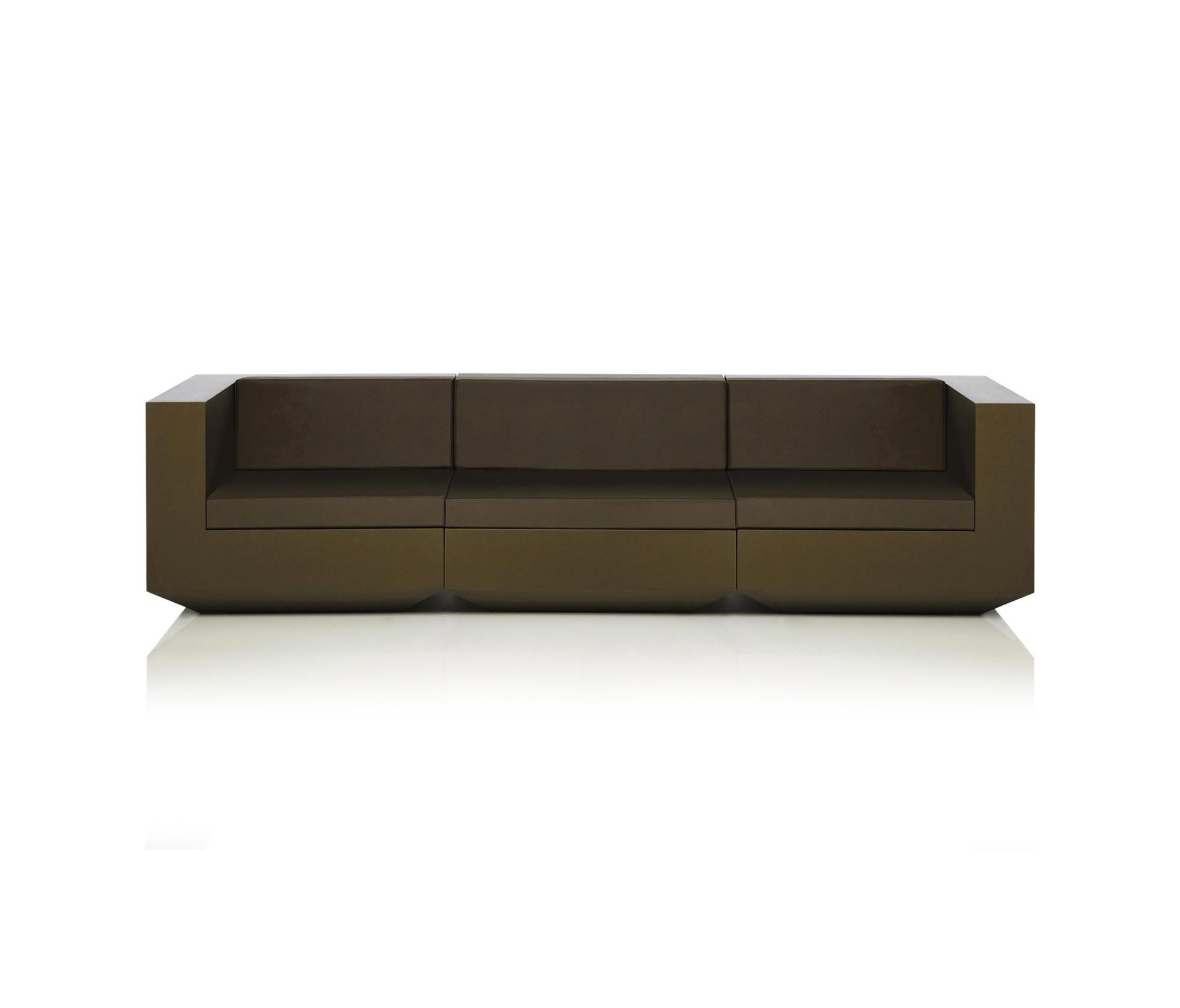 Vela sofa modular sof s de jard n de vondom architonic for Sofa modular jardin