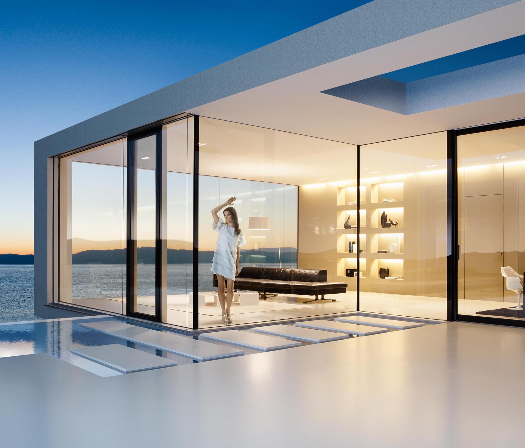 fixframe blue vision fenstersysteme von josko architonic. Black Bedroom Furniture Sets. Home Design Ideas