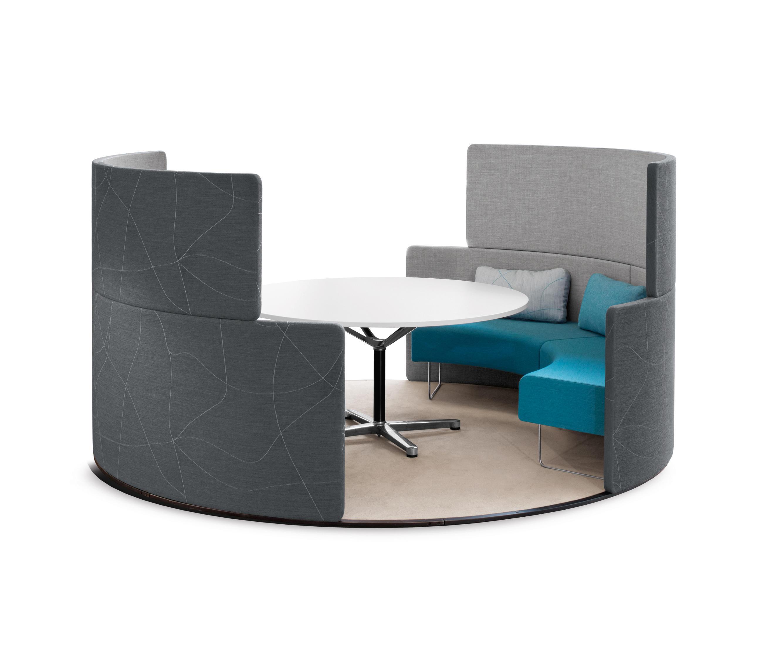 Bene Office Furniture: PARCS TOGUNA CIRCLE - Office Pods From Bene