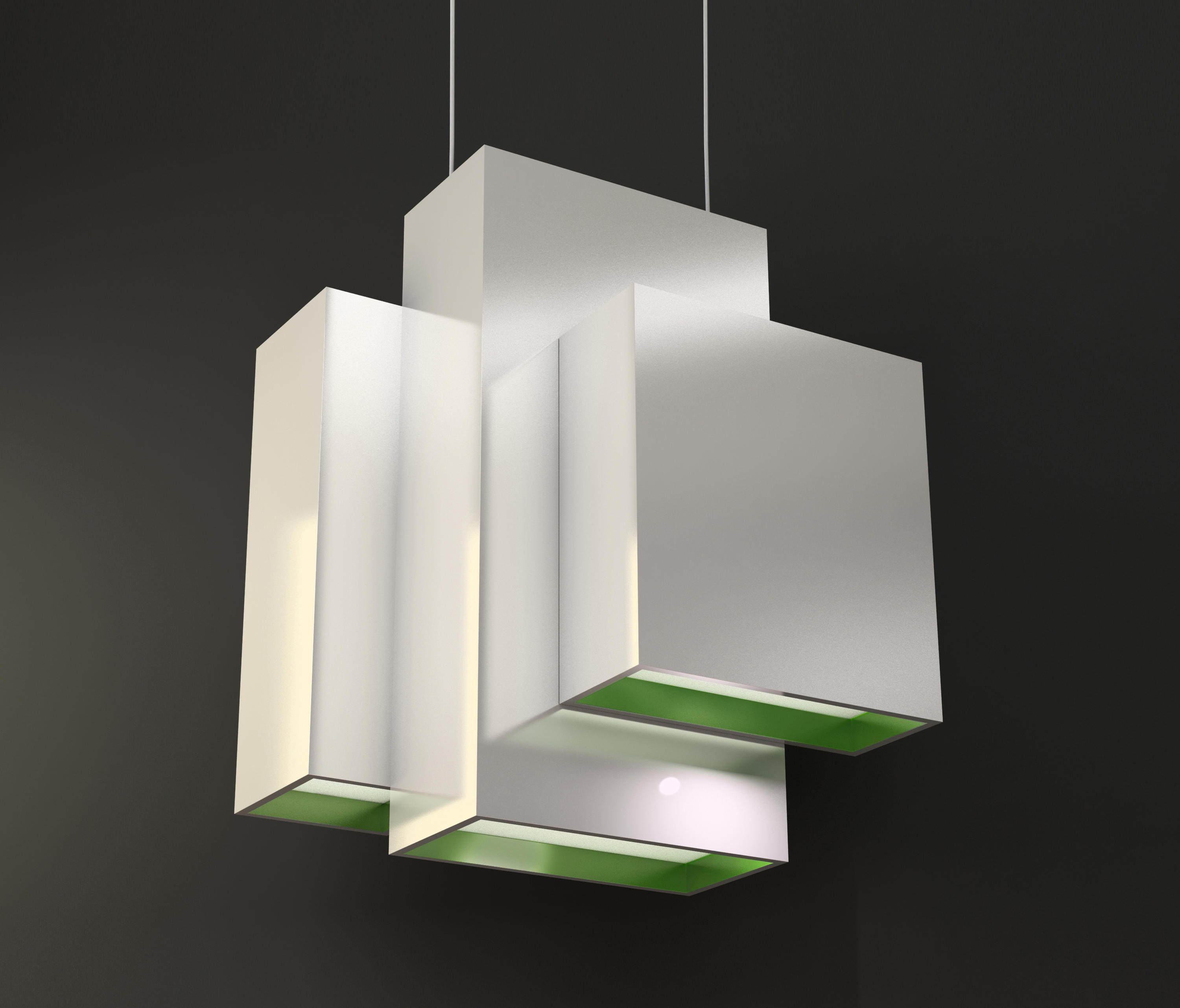 suspended lighting. Blox Suspended Lamp By Quasar | General Lighting