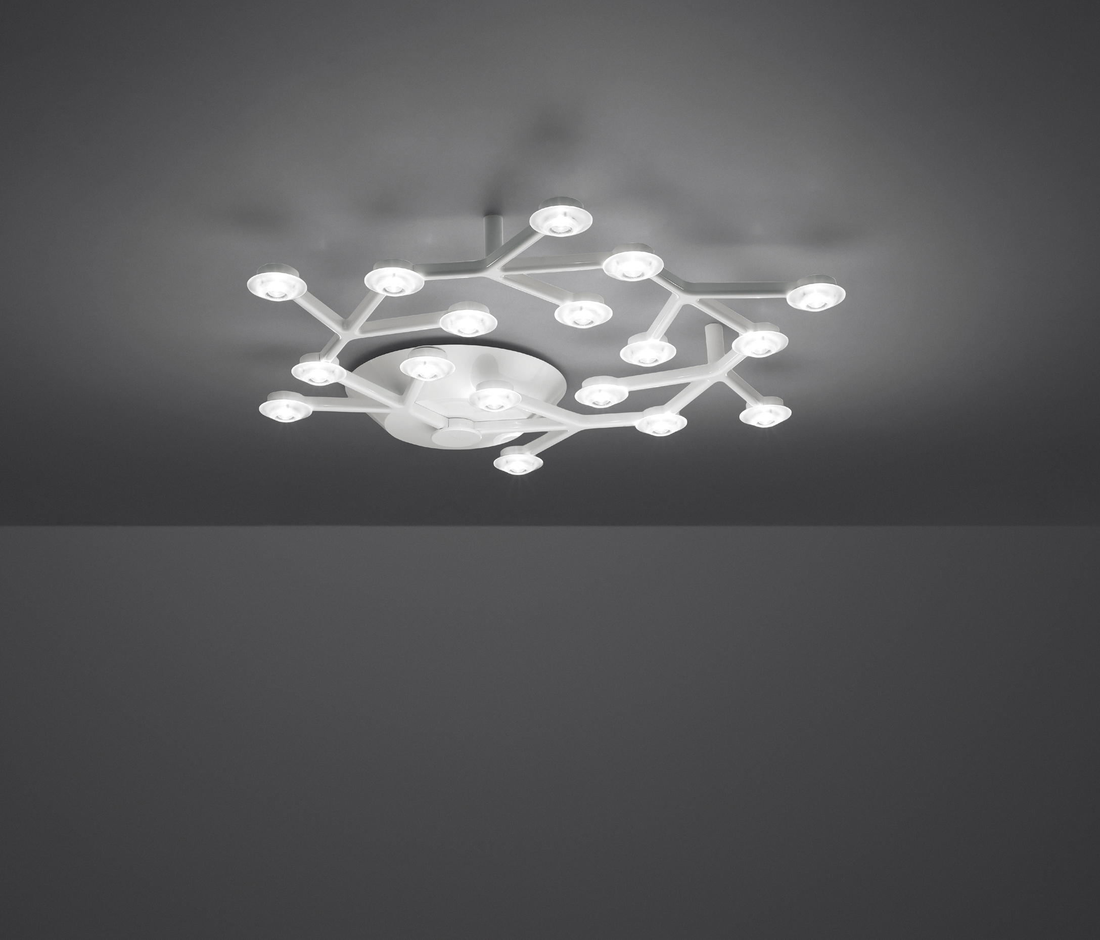 led net circle ceiling lamp ceiling lights from artemide architonic