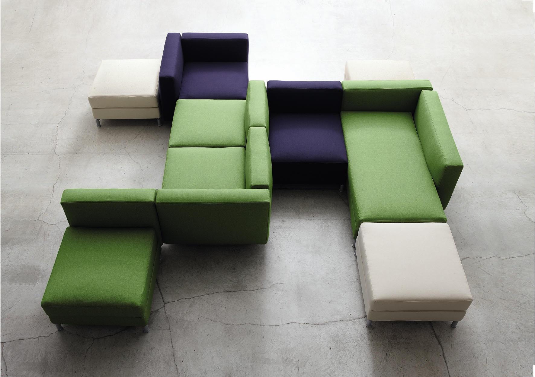 Passepartout modular seating system modular seating for Divani componibili