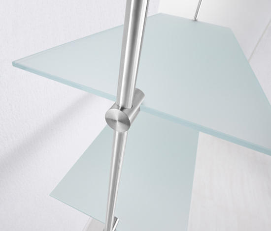 glasregal gr 12 glasbodenhalter von phos design architonic. Black Bedroom Furniture Sets. Home Design Ideas