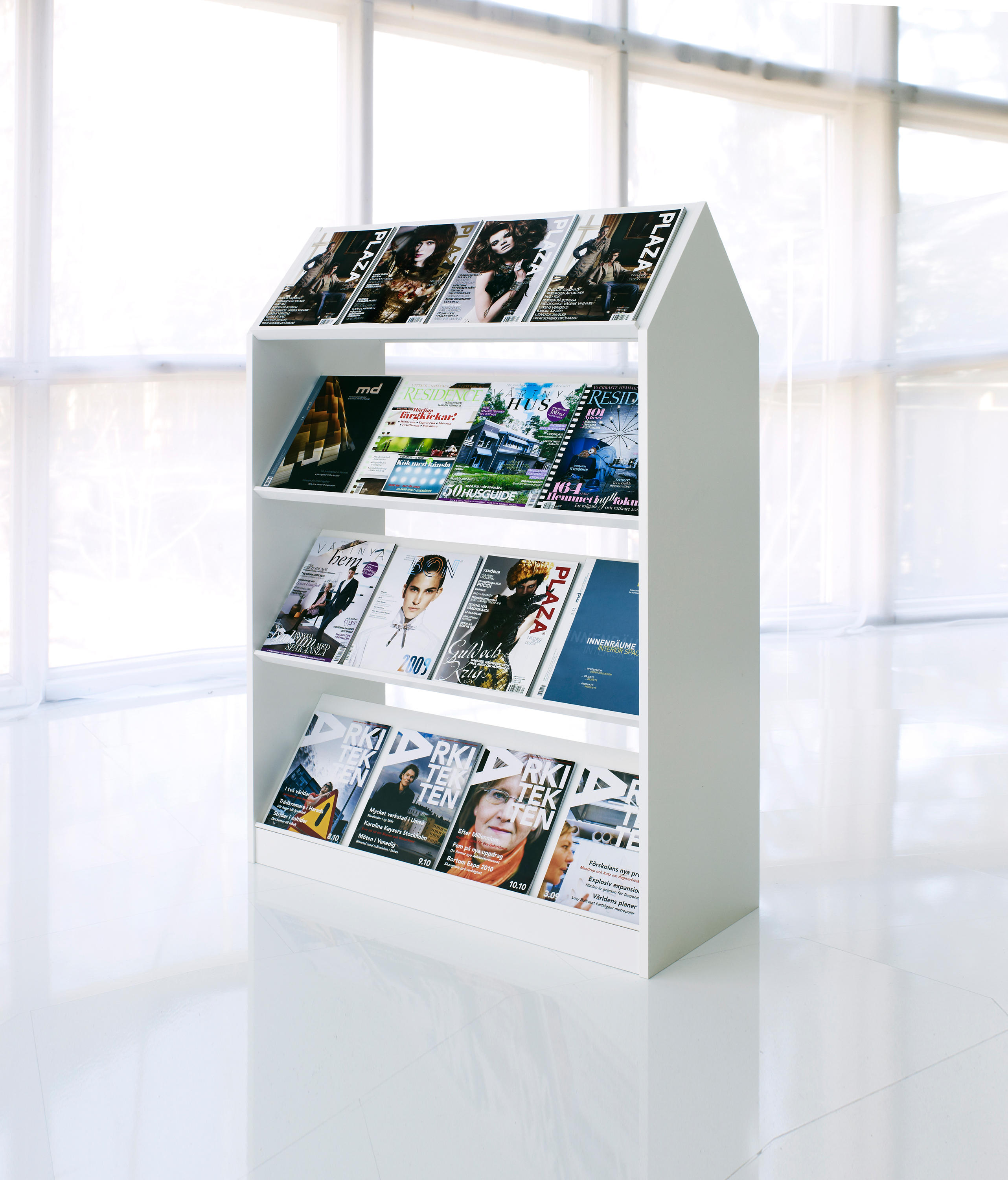 Block Storage Unit By Horreds | Brochure / Magazine Display Stands ...