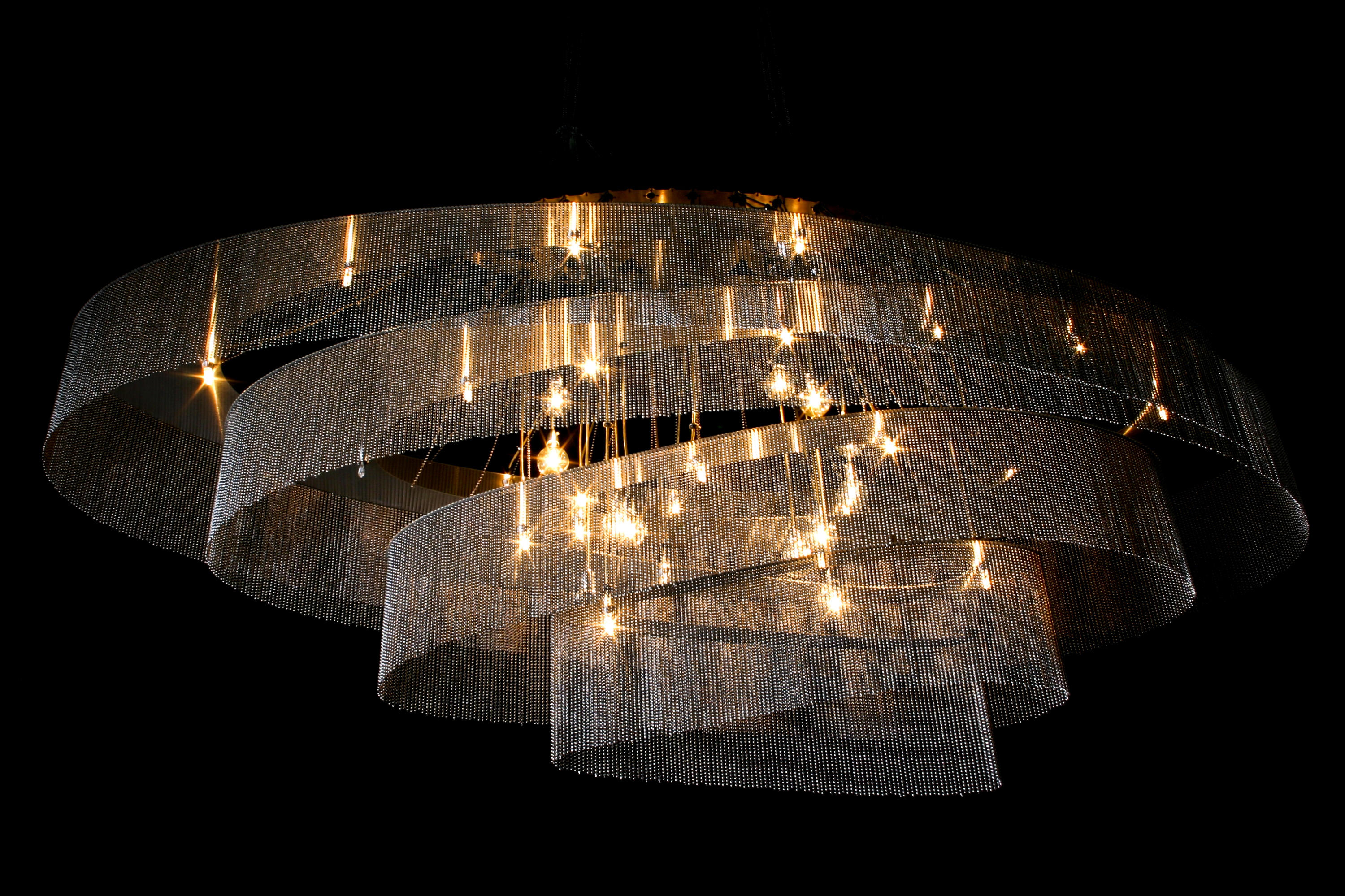 ELLIPTICAL NEBULA 1600X600 Chandeliers From Willowlamp Architonic