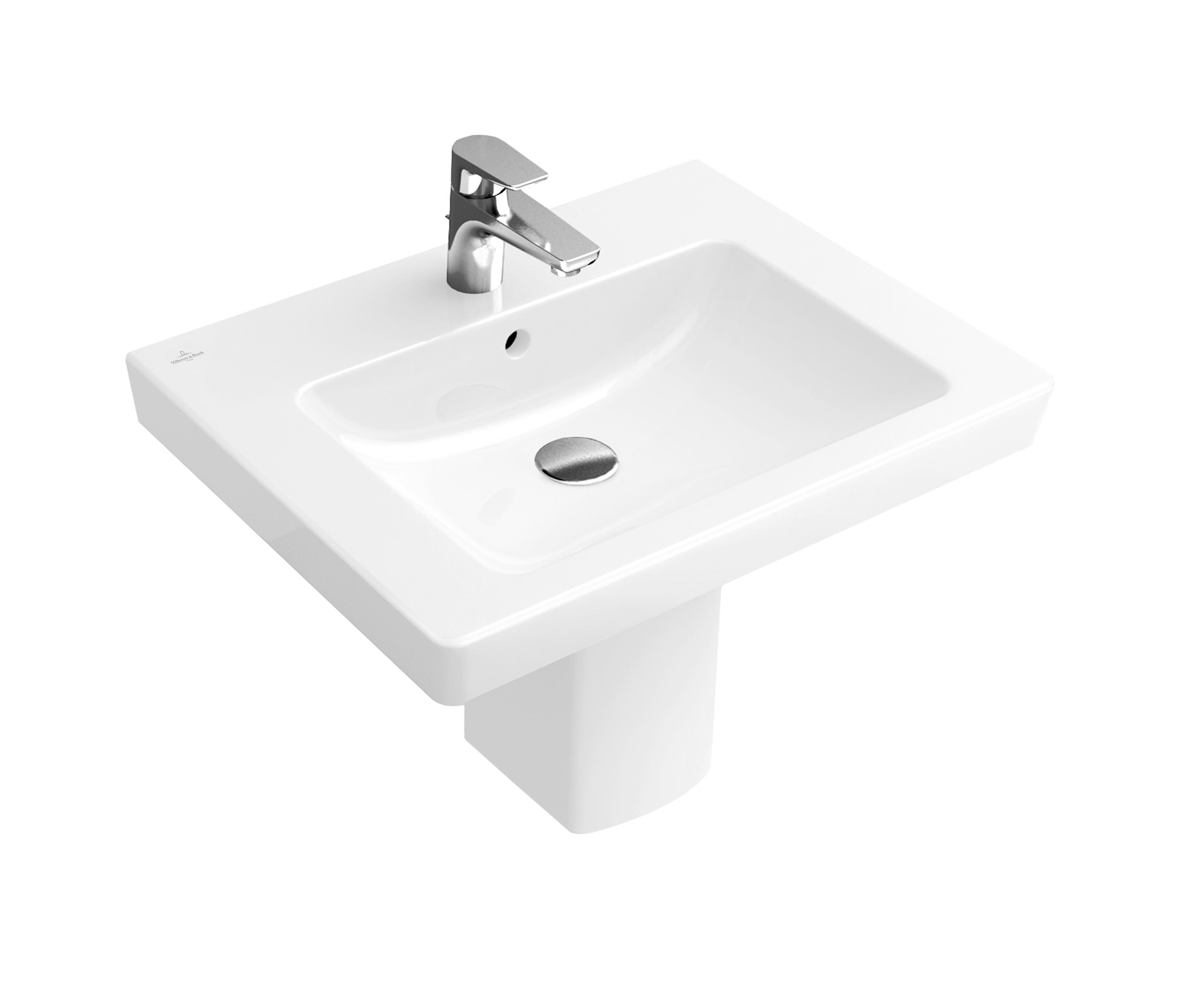 subway 2 0 washbasin wash basins from villeroy boch. Black Bedroom Furniture Sets. Home Design Ideas