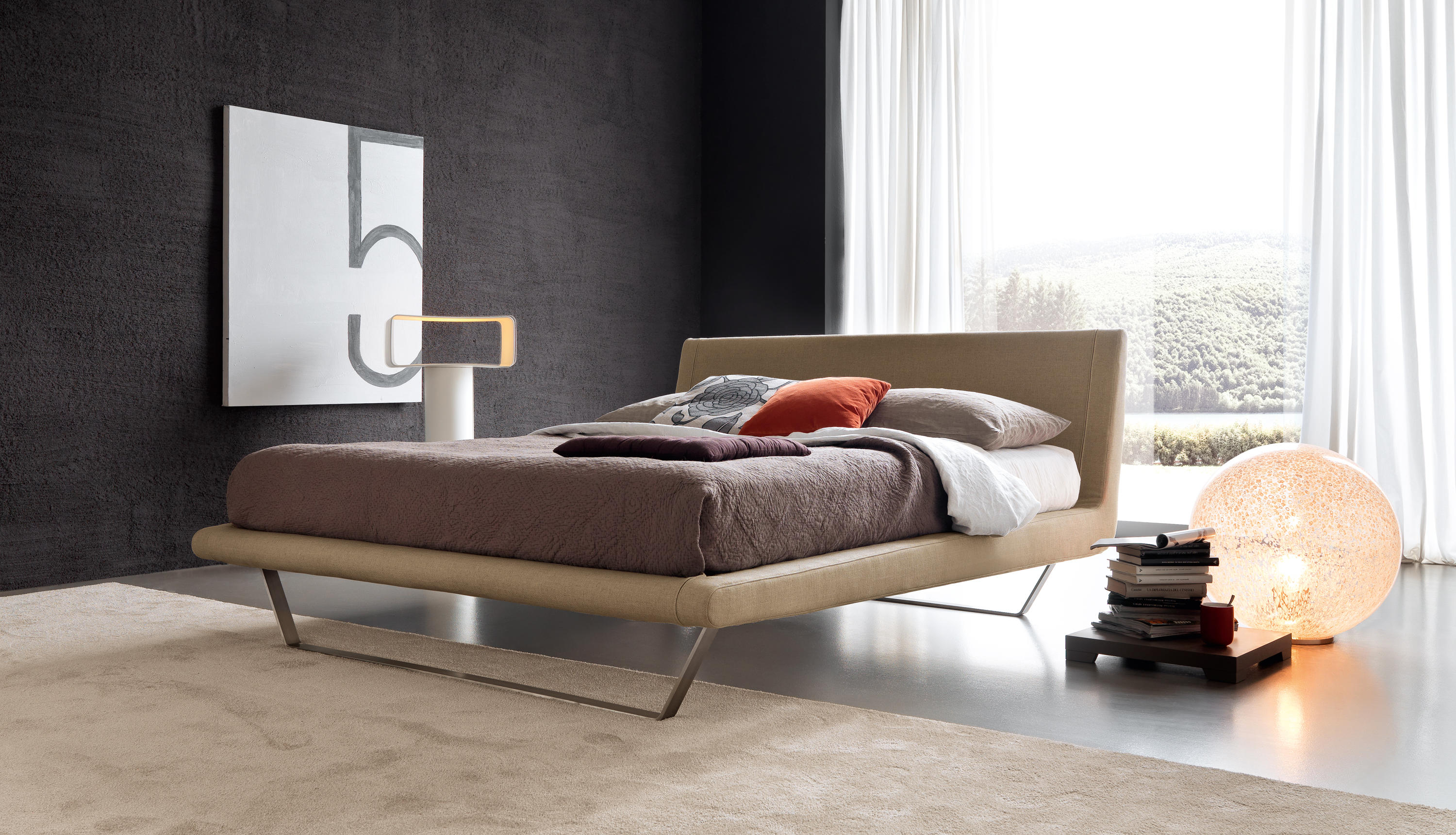 Letti Design.Plaza Beds From Bolzan Letti Architonic