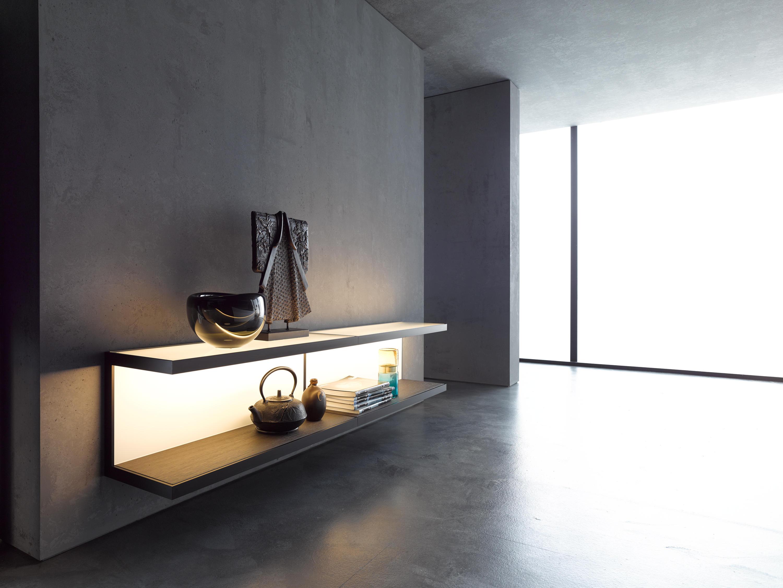 wall shelf 100 gera light system 6 illuminated shelving from gera architonic. Black Bedroom Furniture Sets. Home Design Ideas