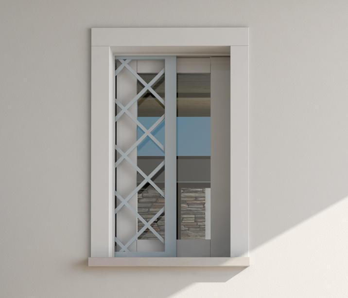 Inferriata inferriate per finestre eclisse architonic - Inferriate mobili per finestre ...