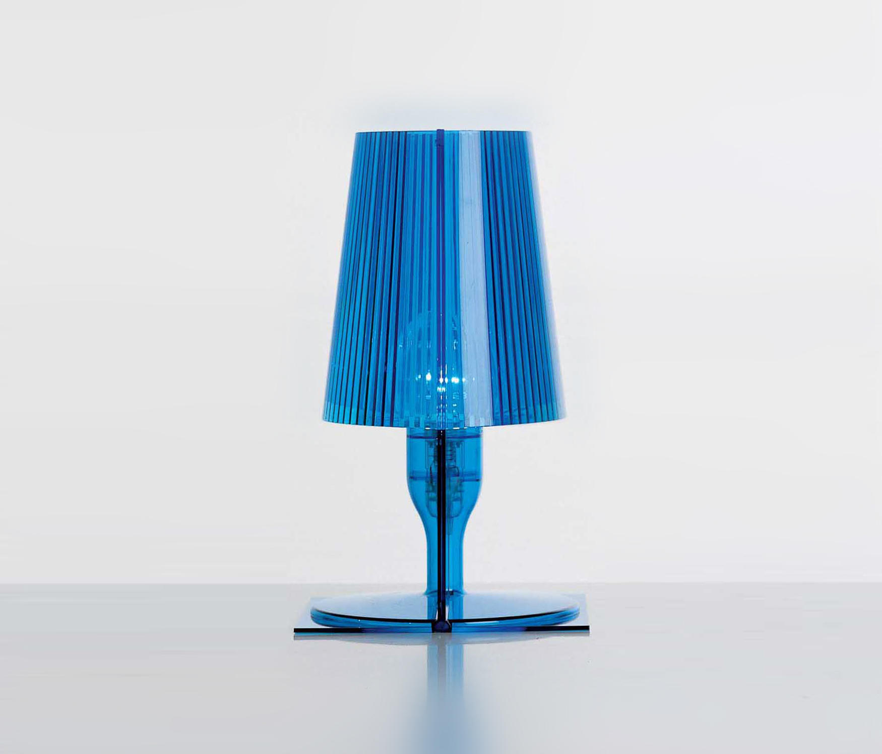 Kartell BLOOM Lampe azur
