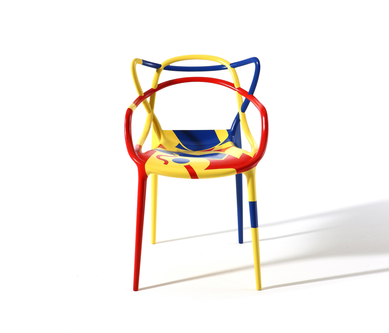masters chaises de restaurant de kartell architonic. Black Bedroom Furniture Sets. Home Design Ideas
